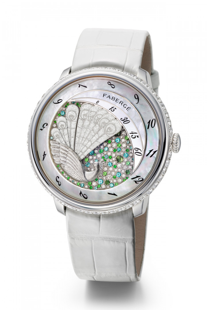 Fabergé Compliqué Peacock