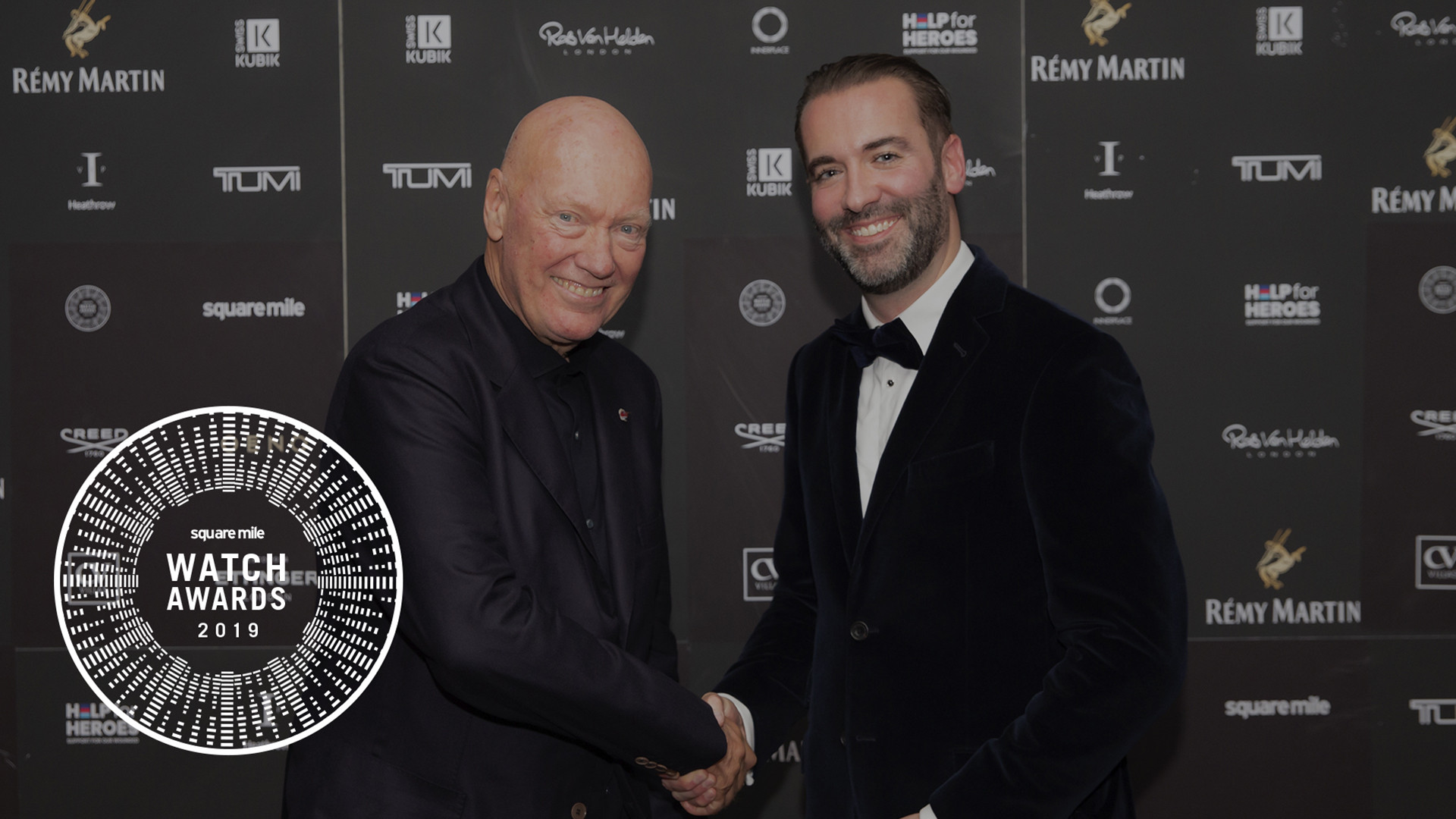 Mark Hedley and Jean-Claude Biver