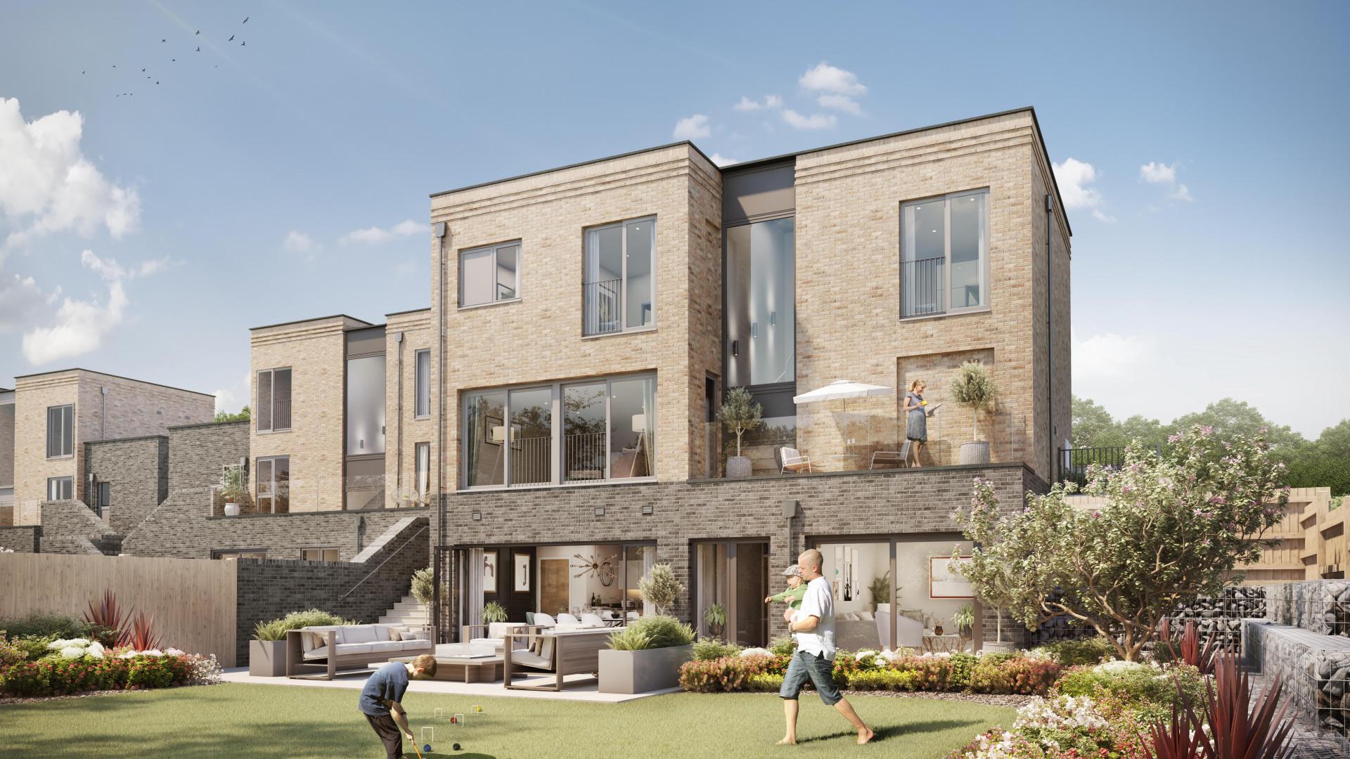 Ridgeway Views North West London Development Outdoors GCI