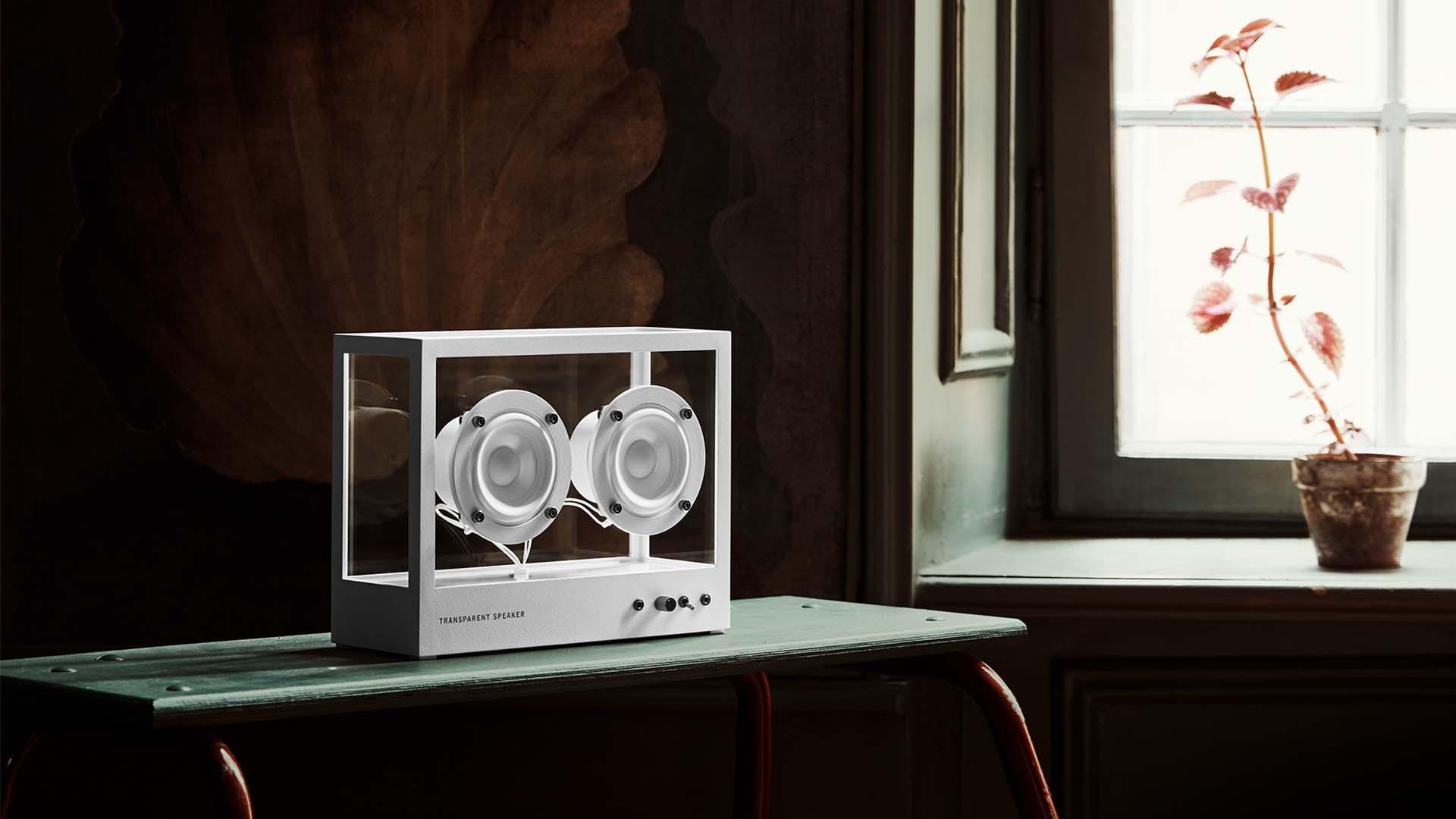 Transparent sound Small Transparent Speaker