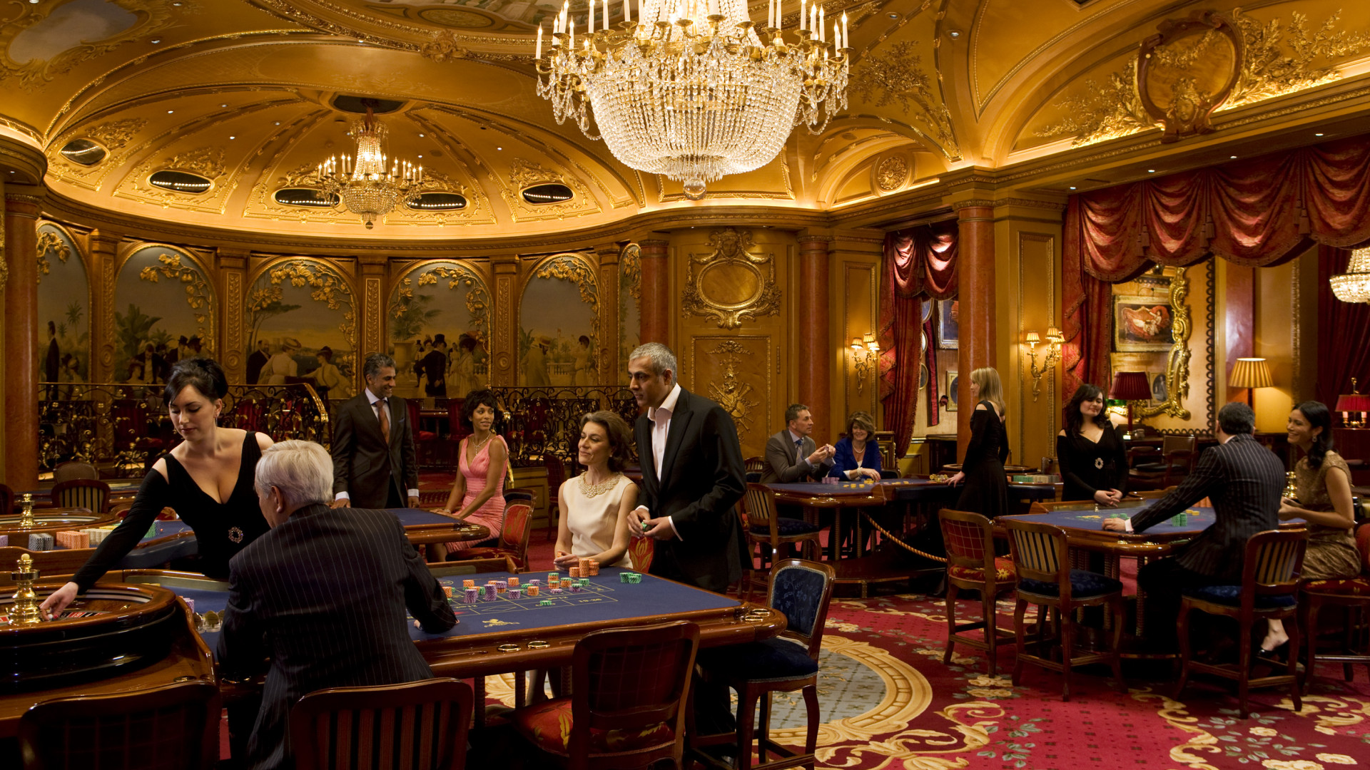 The Ritz Club gaming tables: Best London Casinos