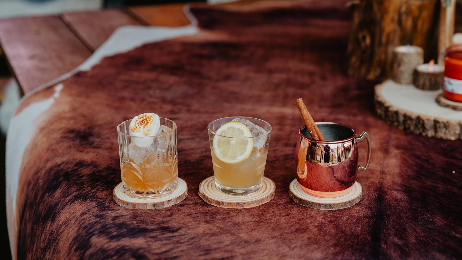 Flat Iron Square whiskey alpine lodge