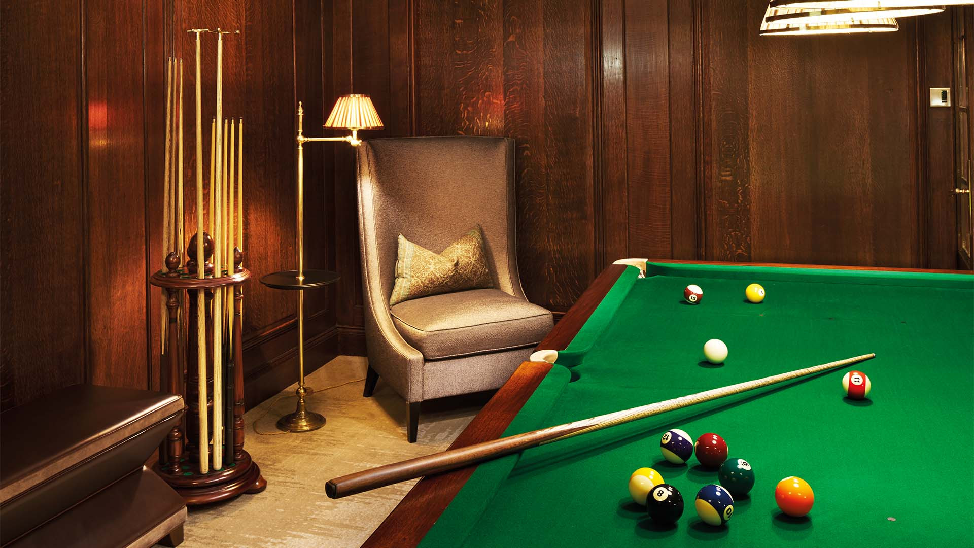 Billiard Room at Ten Trinity Square