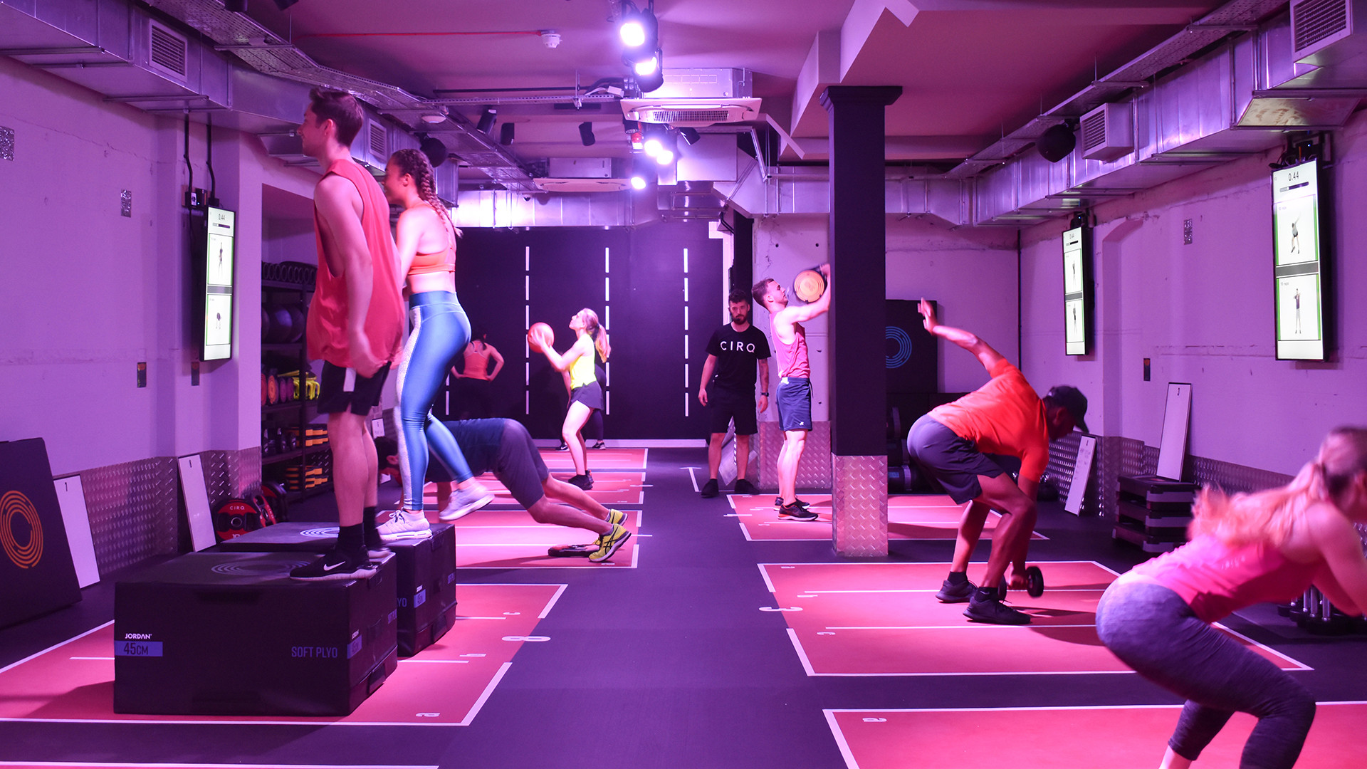 CIRQ workout City of London