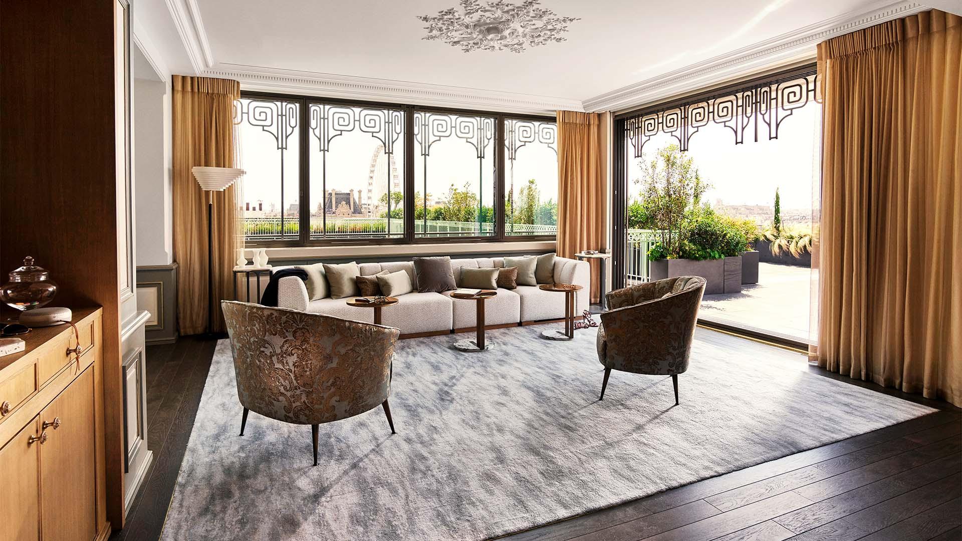 Le Meurice's Belle Etoile Penthouse