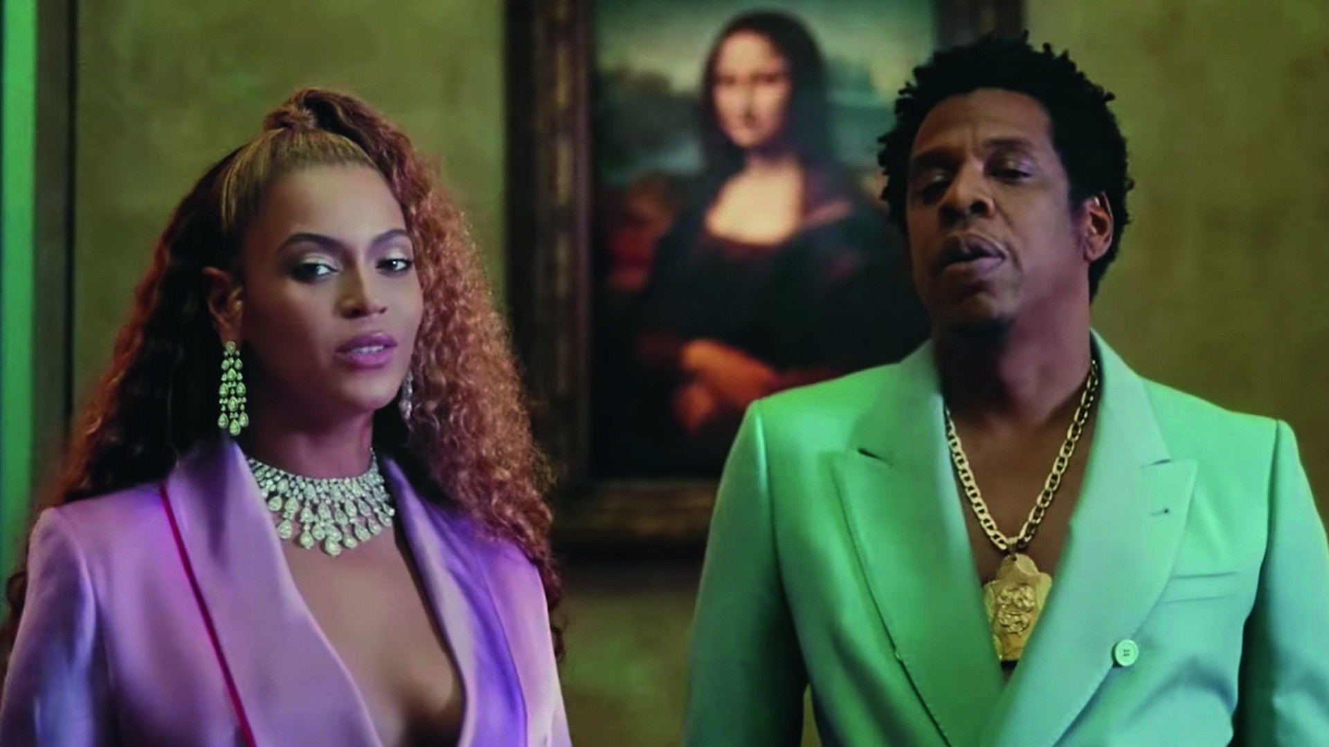 Beyoncé dazzles in Messika in the video for 'APES**T'