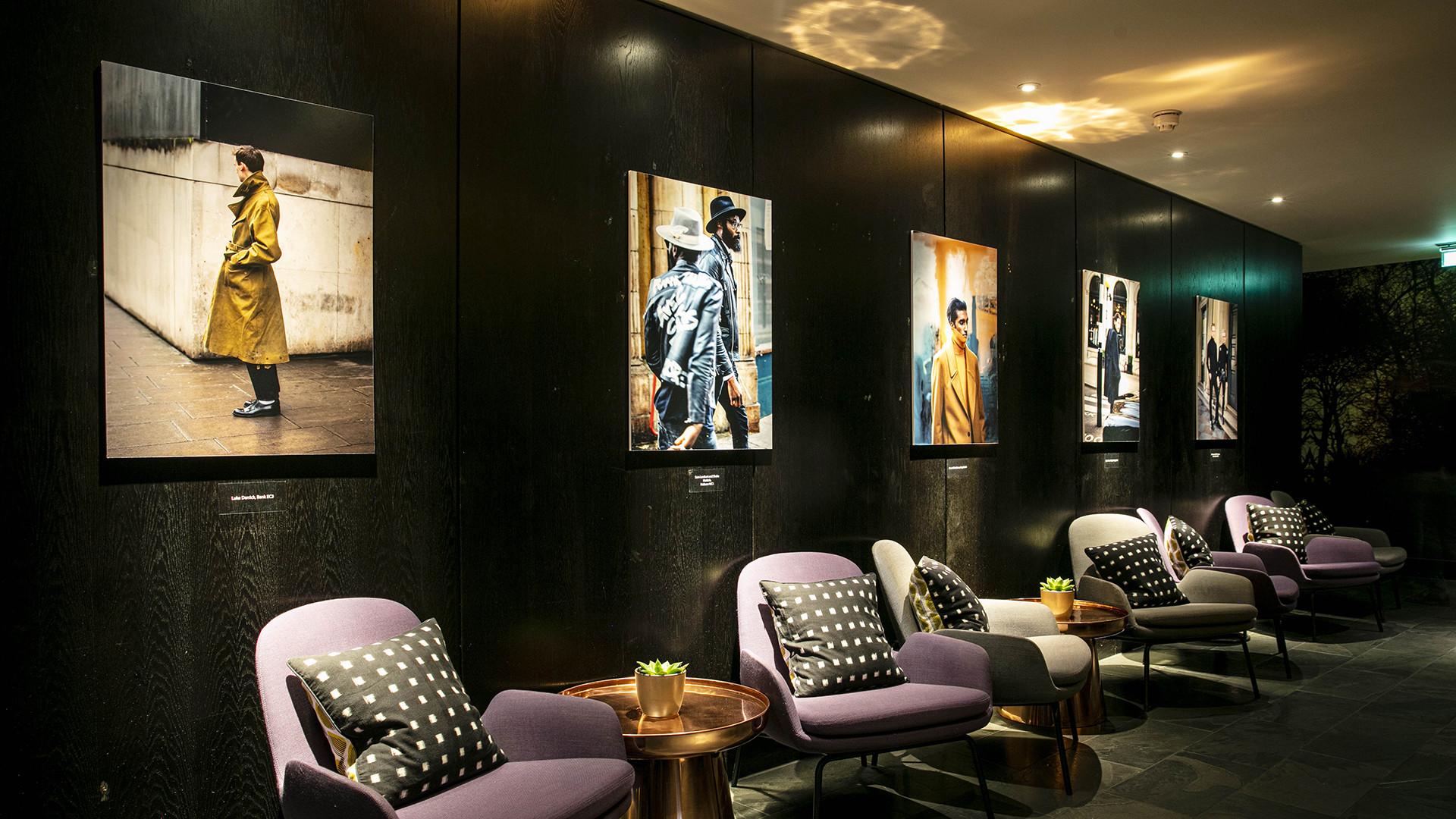 Garçon Jon exhibition South Place Hotel