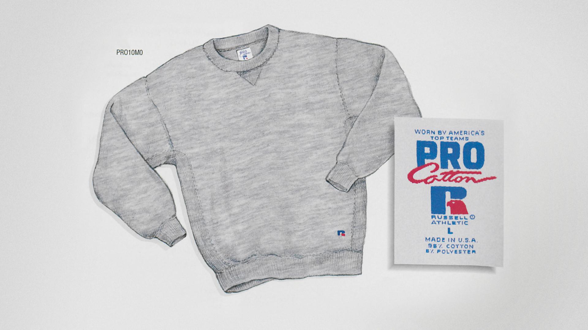 The Russell Athletic sweatshirt