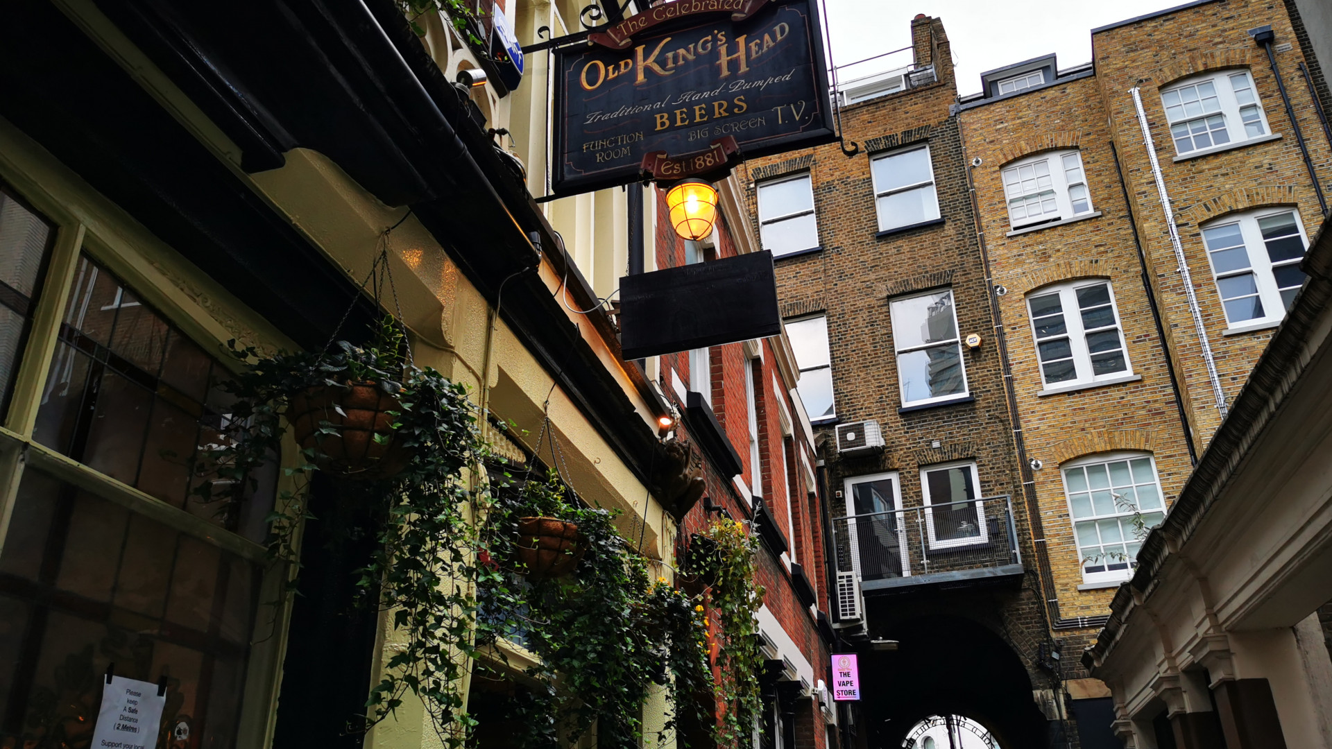Old King's Head – London Bridge Pub