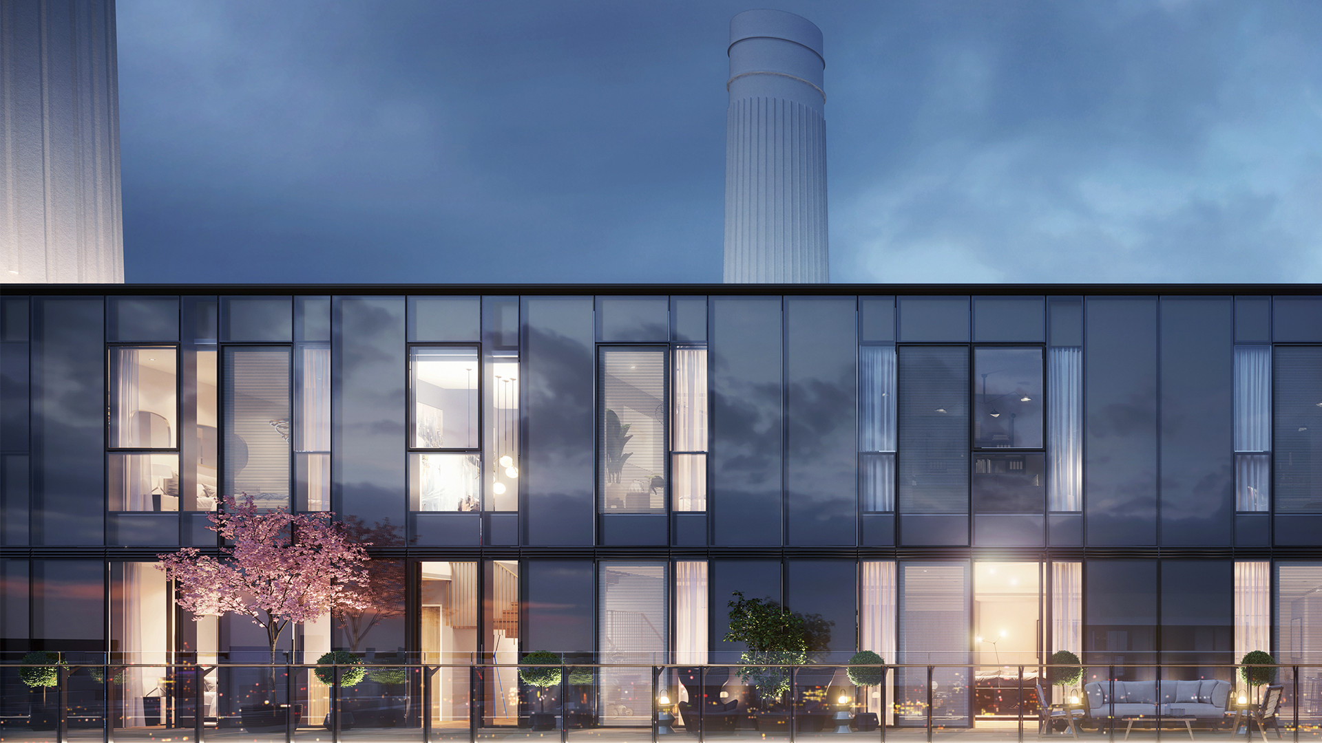 Battersea Power Station, residential apartments
