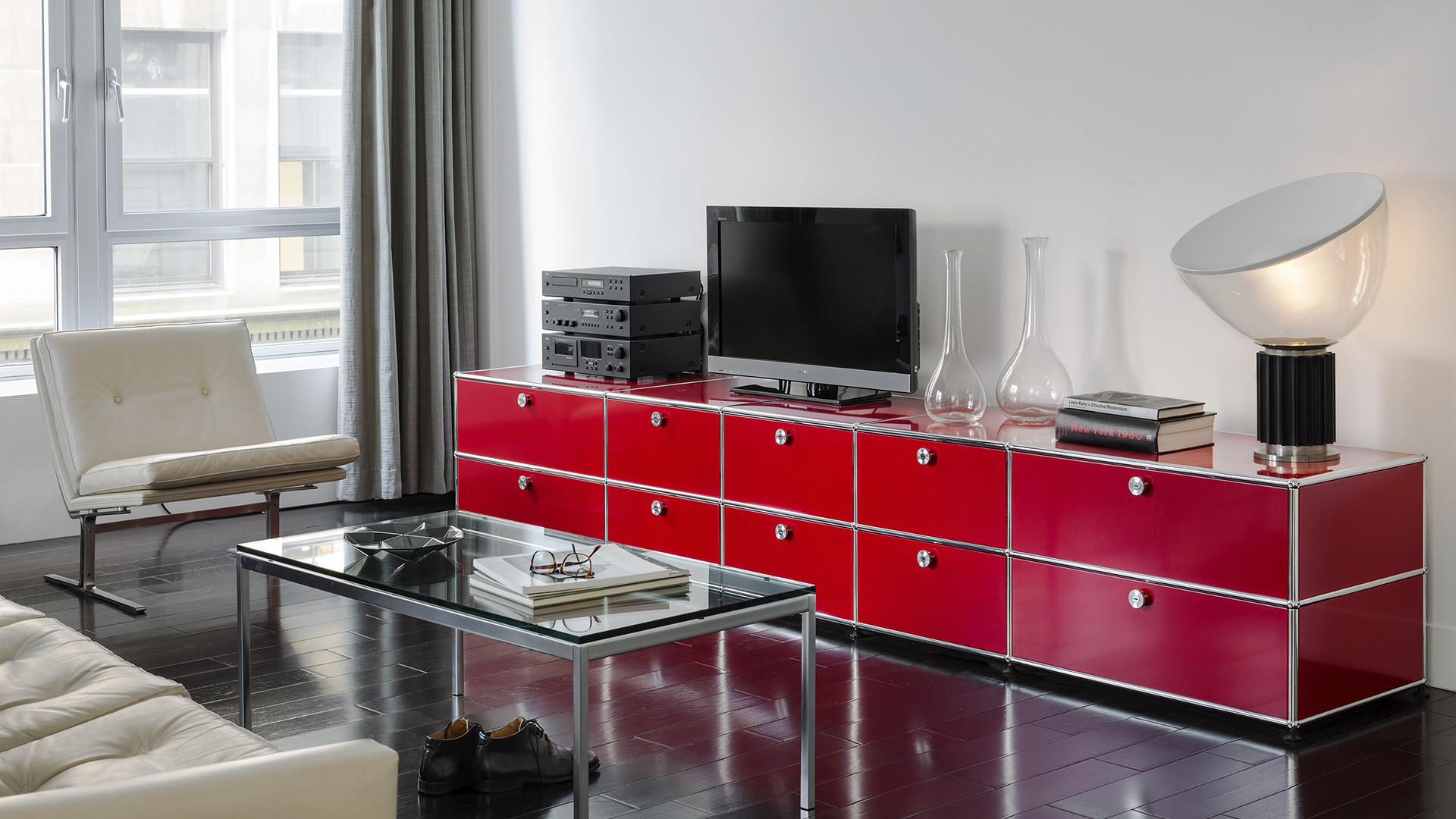 USM Haller furniture and storage system