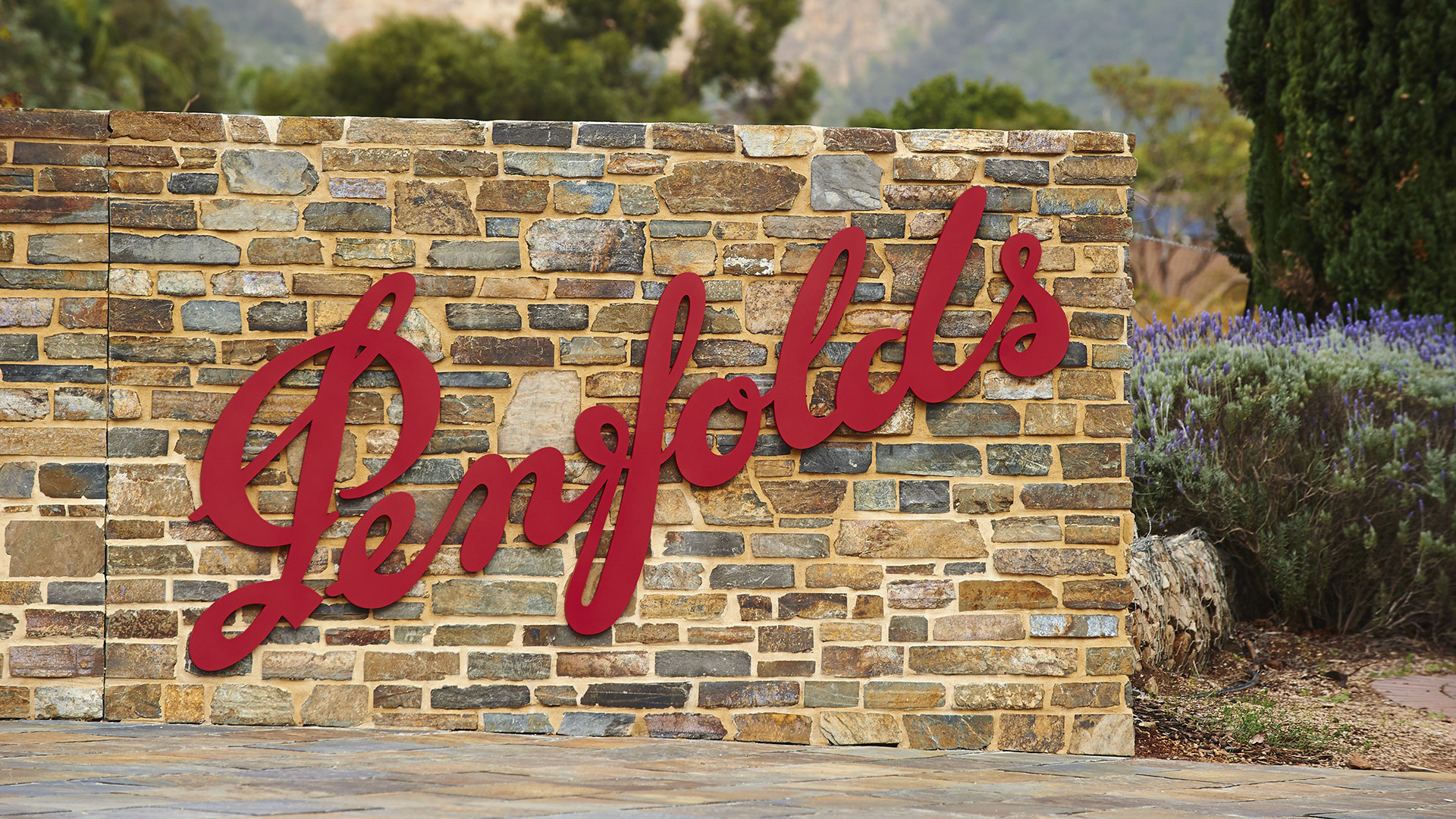 Penfolds welcome sign
