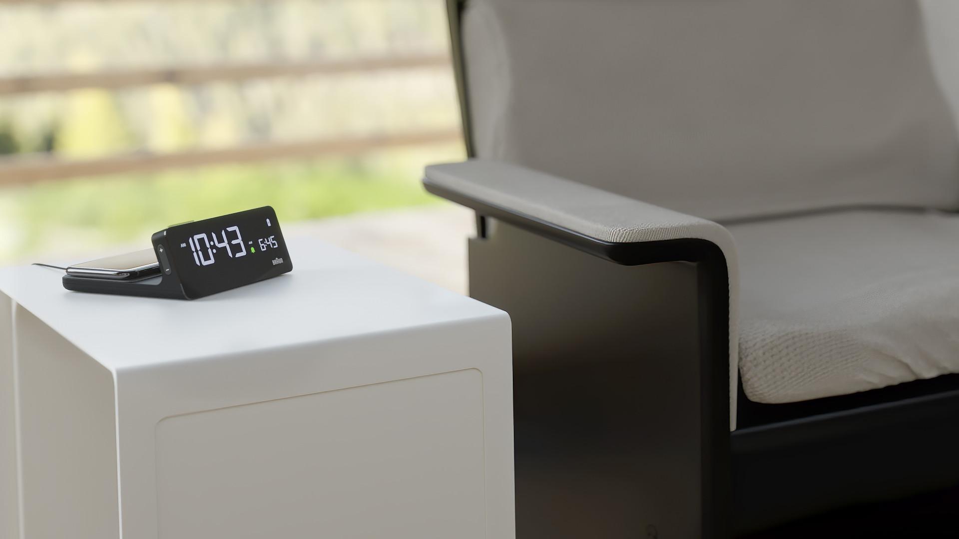 Braun BC21 Wireless Charging Clock