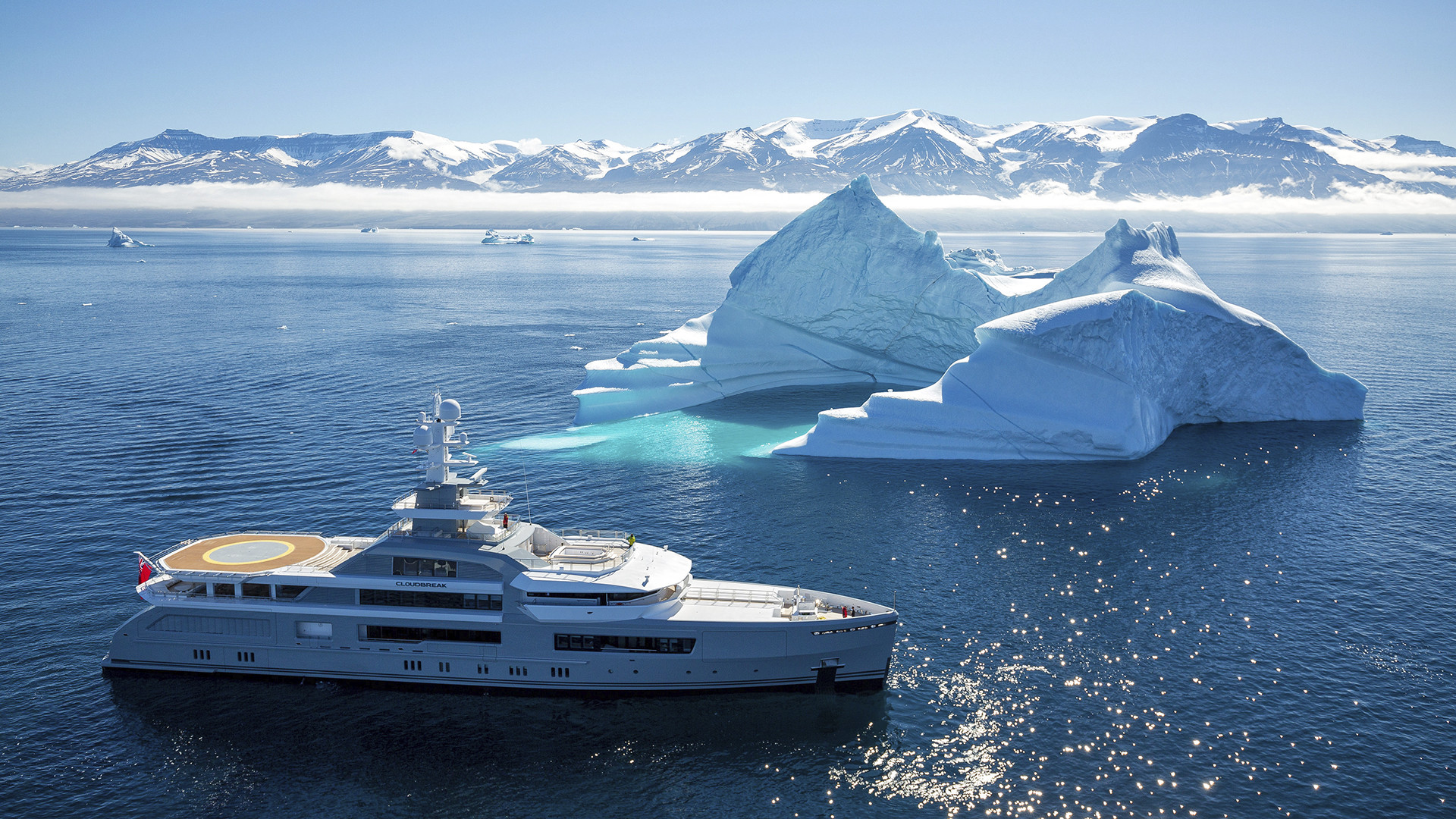 Cloudbreak superyacht for charter