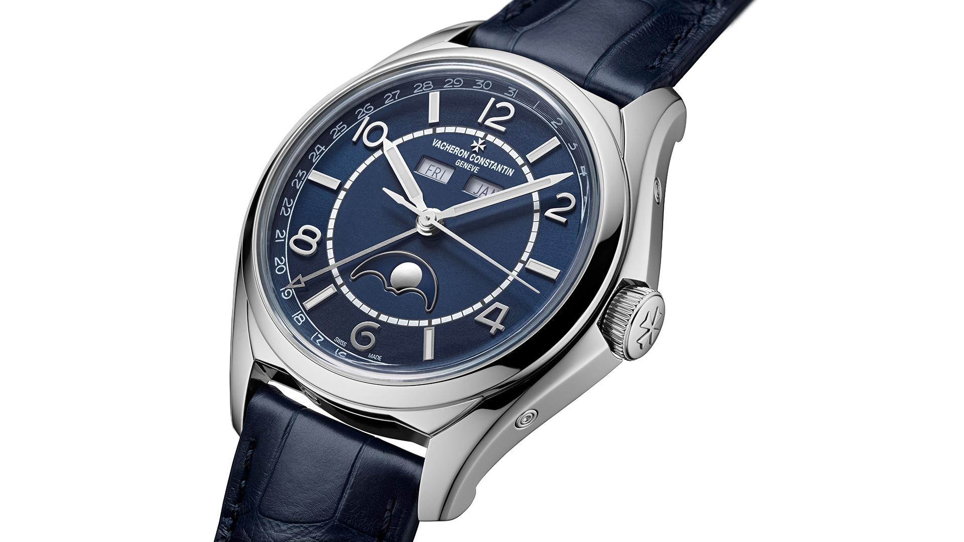 Vacheron Constantin Fiftysix Complete Calendar watch – close-up