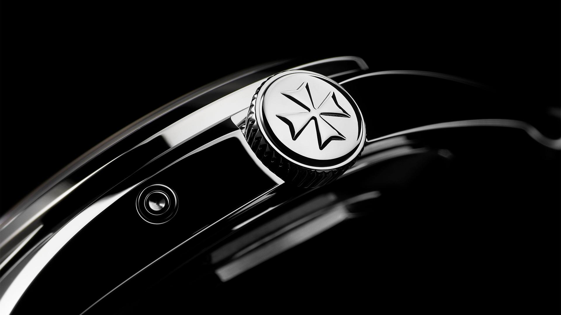 Vacheron Constantin Fiftysix Complete Calendar watch – crown details
