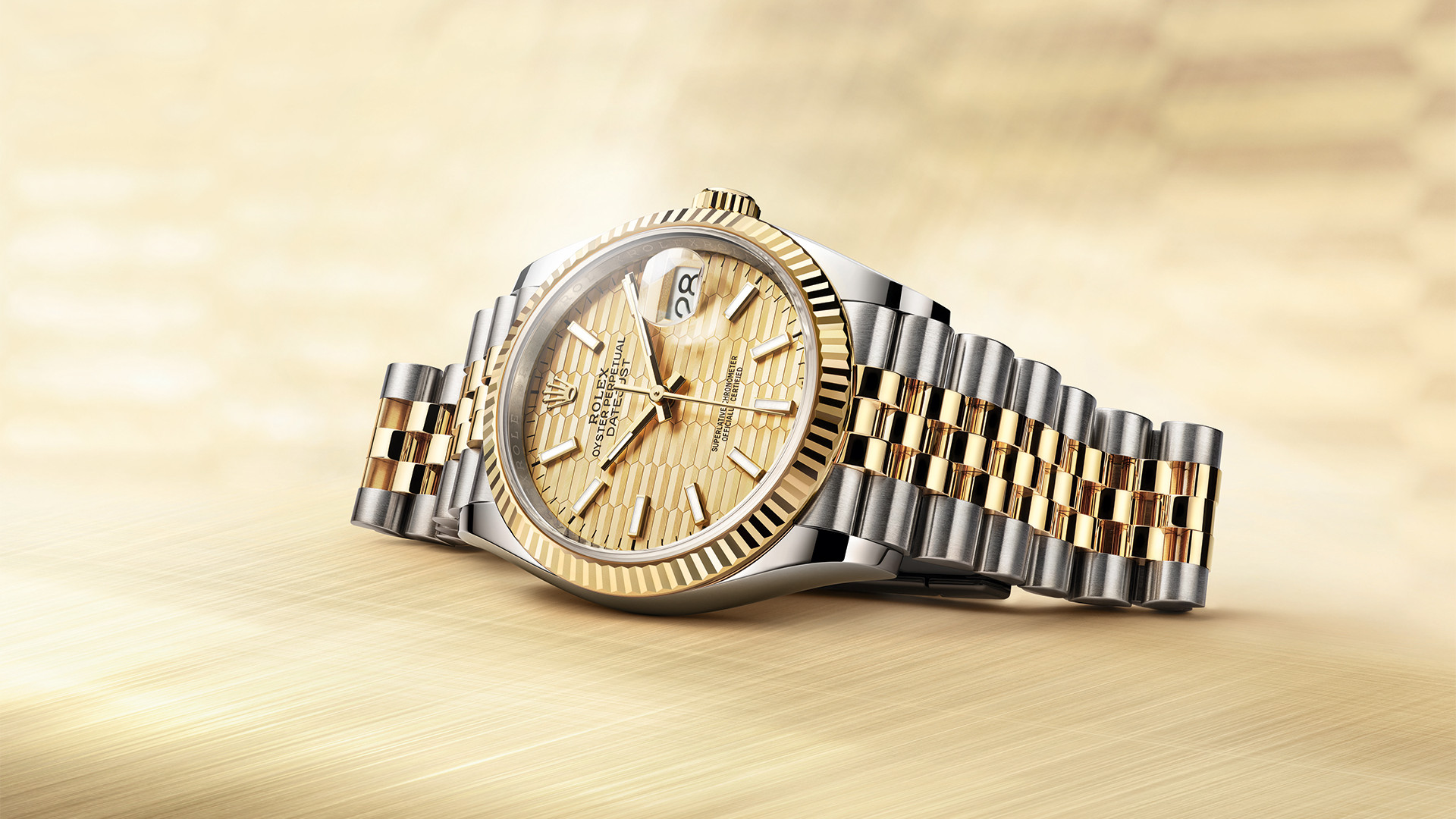 Rolex Oyster Perpetual Datejust 36mm Fluted Dial 2021 watch