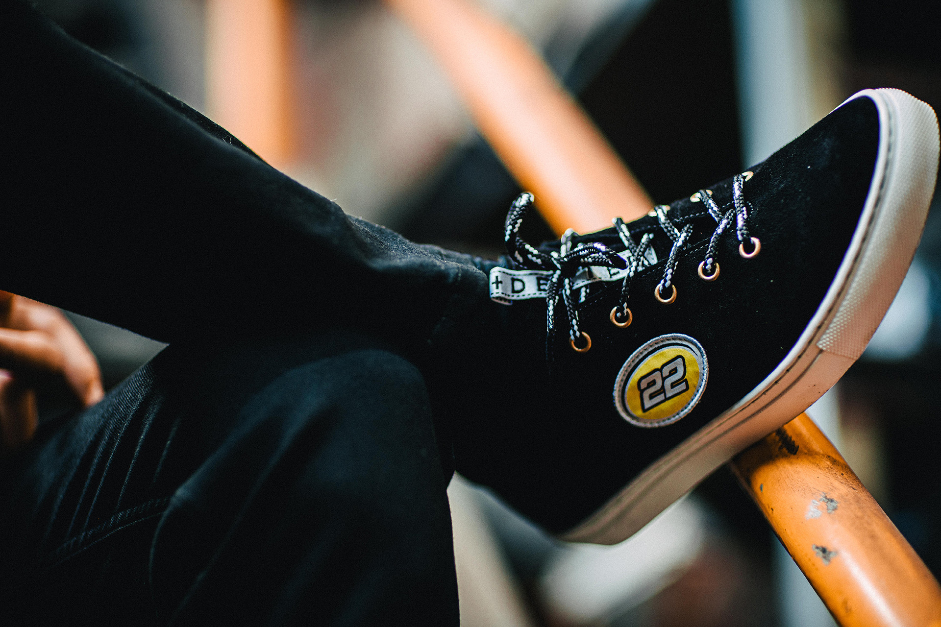 Jenson Button Duke + Dexter DRAKE Black 22 Racing Sneakers