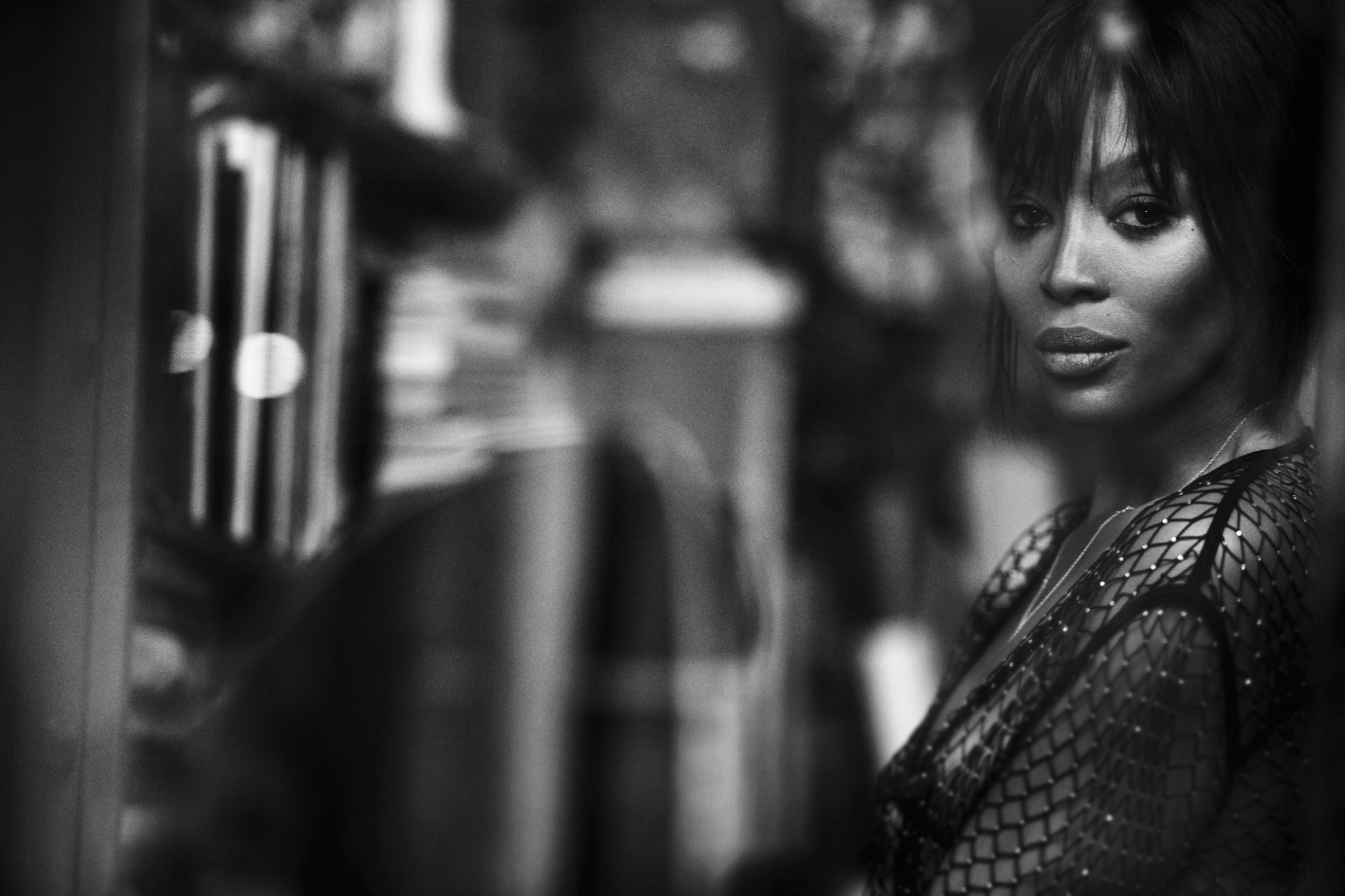 Naomi Campbell photographed by Peter Lindbergh
