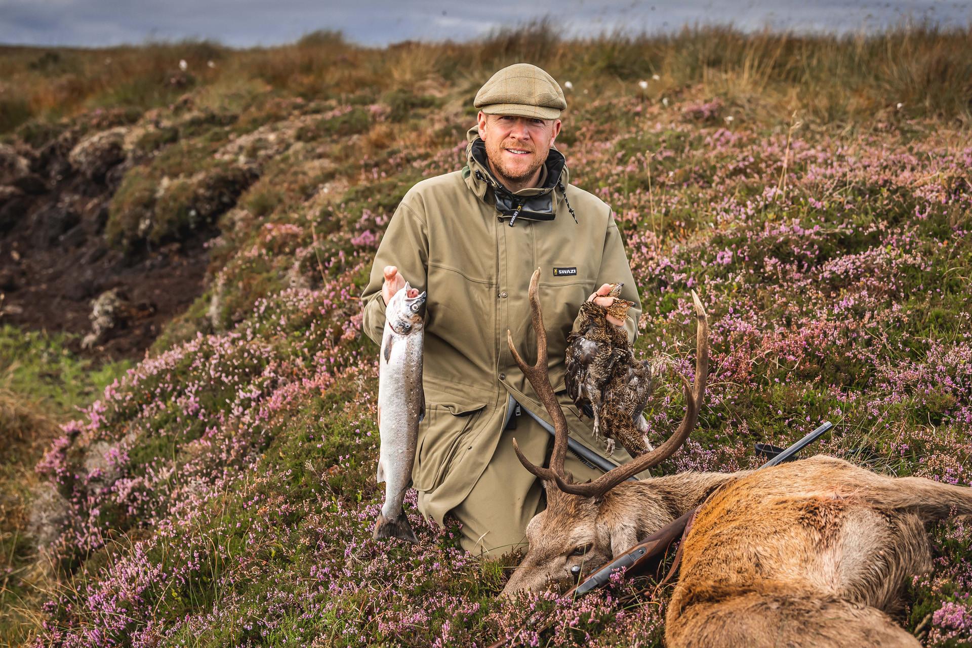 The Macnab – stag poaching