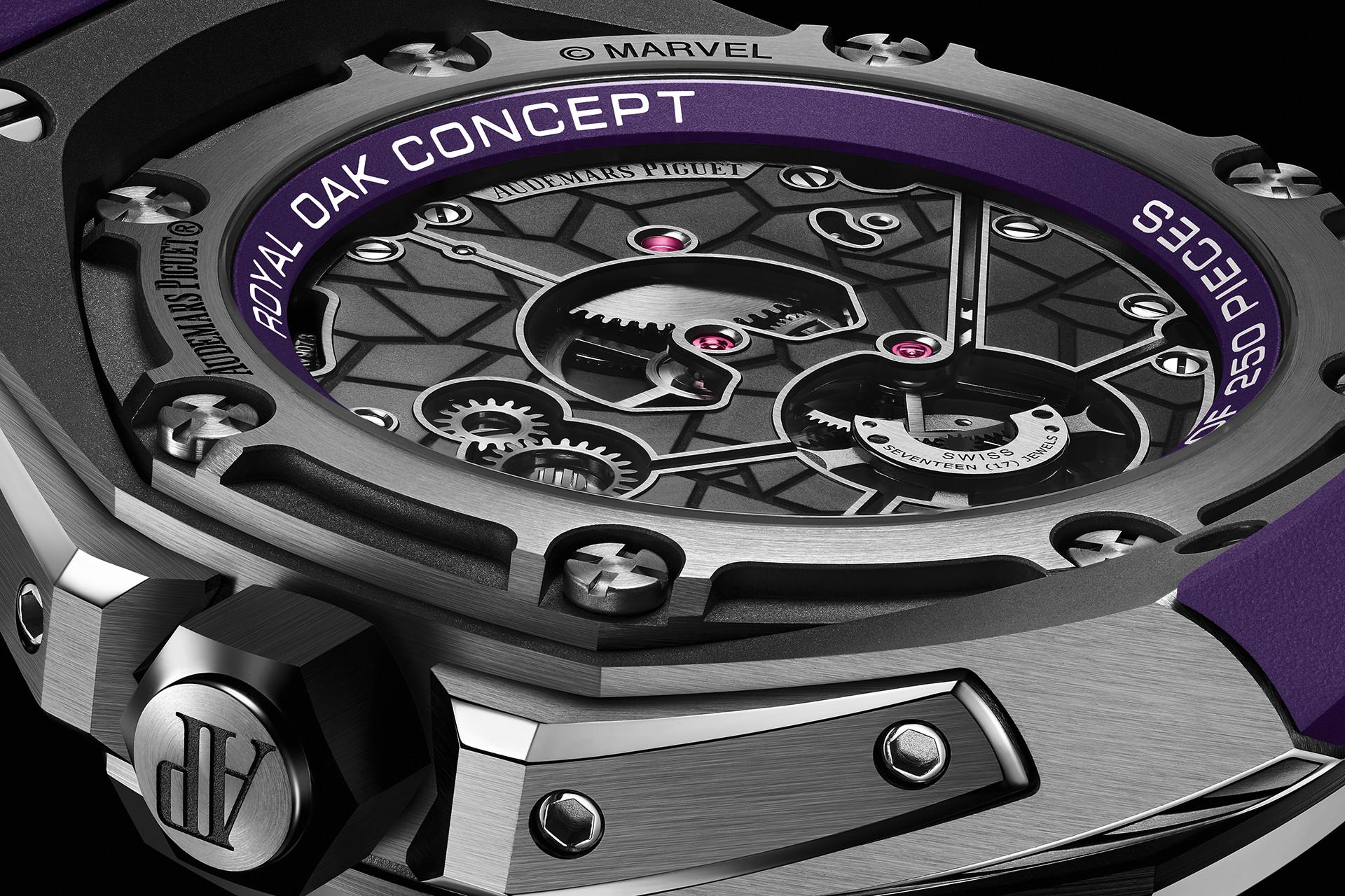 """Audemars Piguet limited-edition Royal Oak Concept """"Black Panther"""" Flying Tourbillon"""