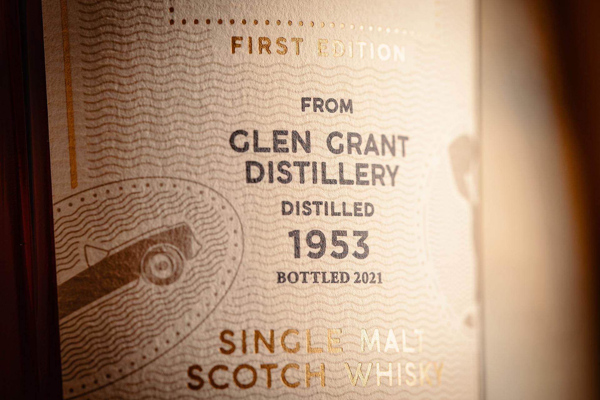 Gordon & MacPhail Mr George Legacy Series, Glen Grant 1953