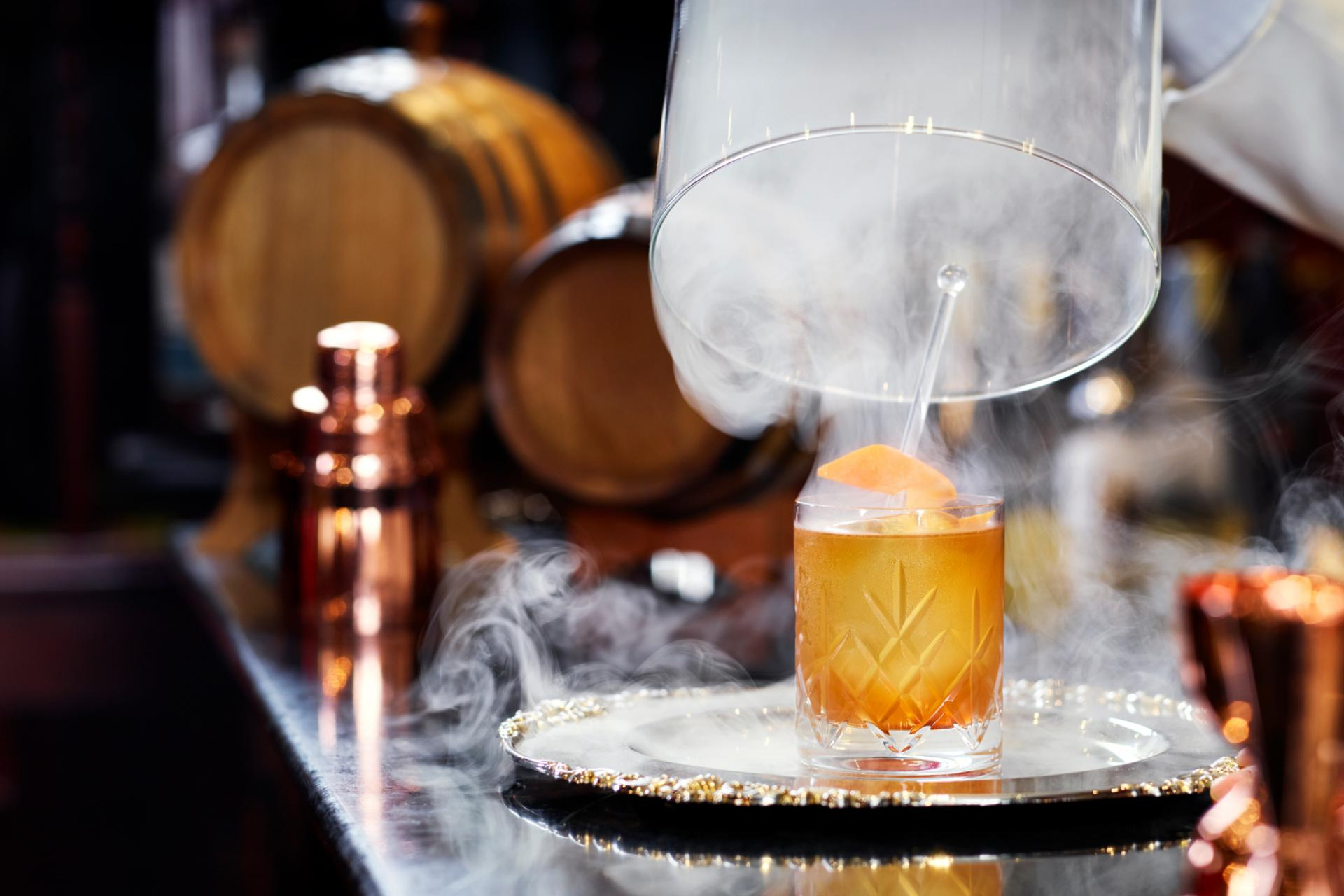 The Milestone Hotel Old Fashioned reveal