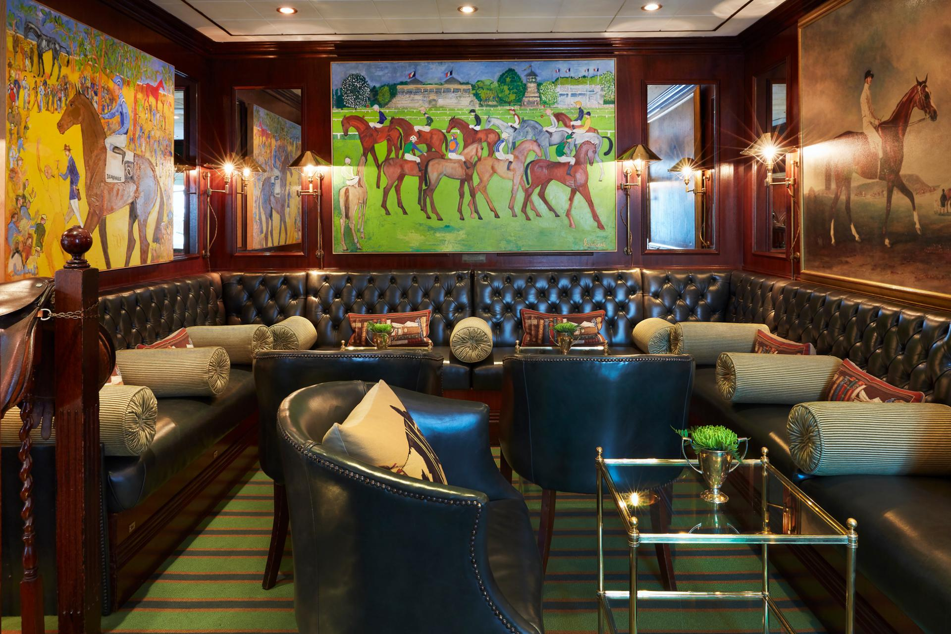 Stables Bar seating area