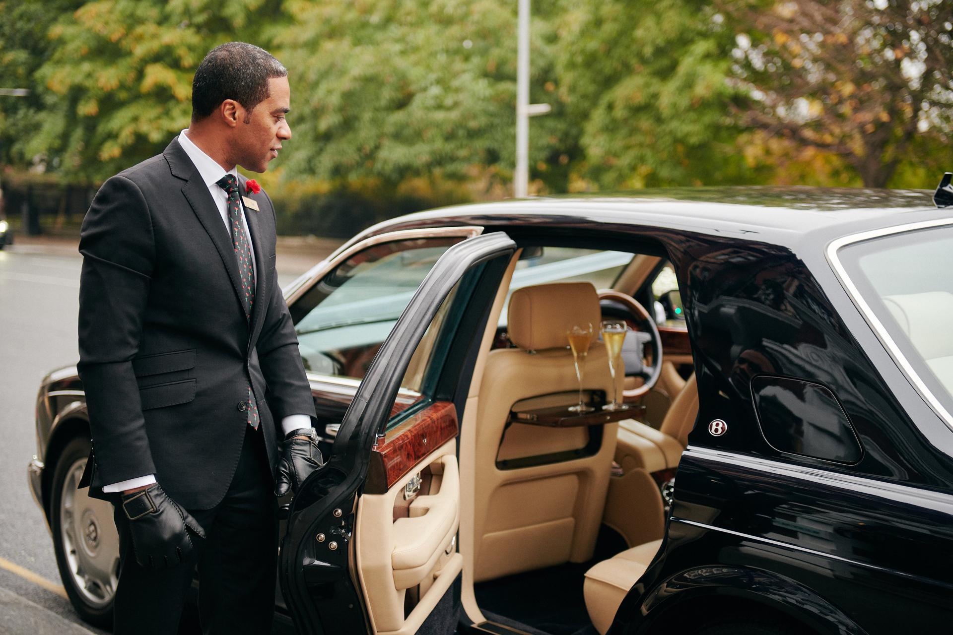 The Milestone personal chauffeur