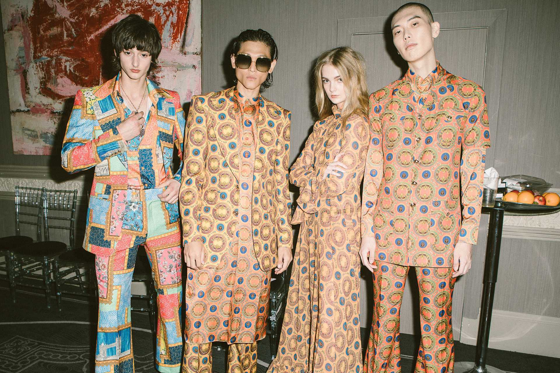Models for Helen Anthony at London Fashion Week 2021