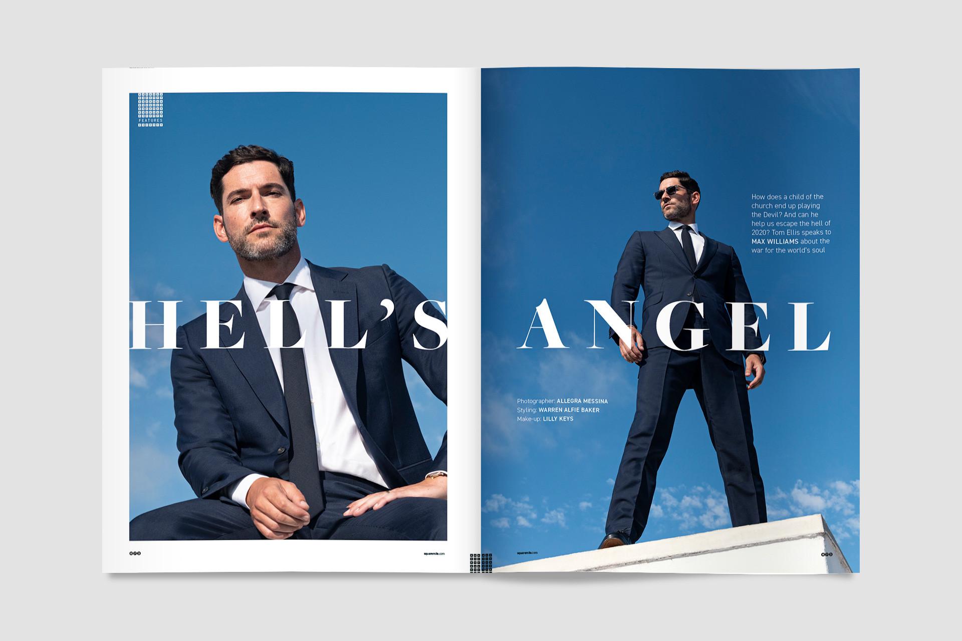 Tom Ellis – Square Mile magazine