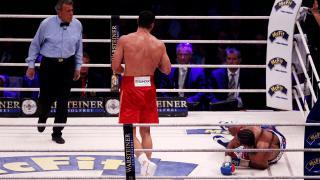 David Haye loses world heavyweight unification fight to Wladimir Klitschko