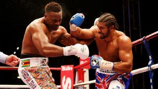 David Haye beats Dereck Chisora at Boleyn Ground, Upton Park