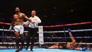 David Haye beats Mark de Mori on his return to boxing
