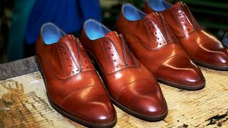 Sons of London British shoemaker with an Italian factory