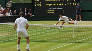 vs Novak Djokovic, 2014