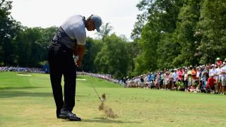 Tiger Woods list of injuries, back injury, Wyndham Championship 2015