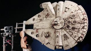 Millennium Falcon model