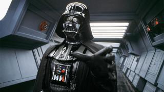 Darth Vader's (David Prowse) choke hold