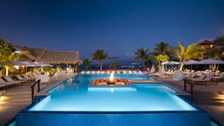A pool at Sandals Grenada Resort & Spa