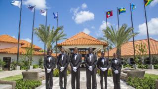 Staff at Sandals Grenada Resort & Spa