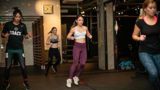 12x3 Boxing Gym Aldgate and Paddington Interior Action Shot