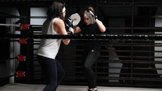 12x3 Boxing Gym Aldgate and Paddington Interior Action Shot in ring