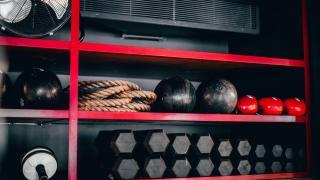 Rathbone Boxing Club RBC Interior shot equipment