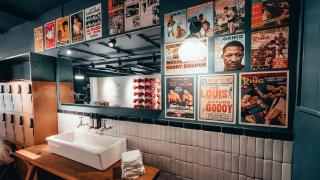 Rathbone Boxing Club RBC Interior shot bathroom