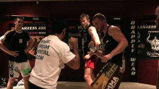 London Shootfighters MMA action shot