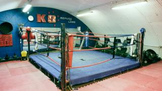 KO Gym Interior Shot MMA Gym London