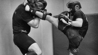 Urban Kings MMA London live action shot inside gym