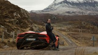 Lamborghini Huracan EVO Spyder on Scotland's North Coast 500 Photographed by Michael Shelford