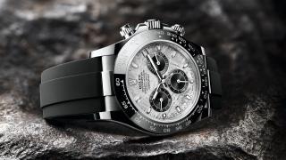 Rolex Cosmograph Daytona with meteorite dial 2021 watch